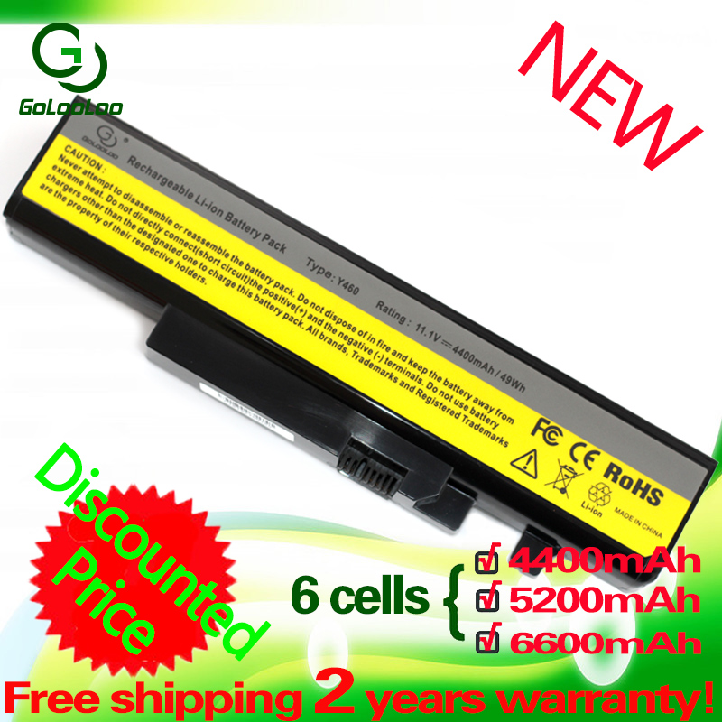 Golooloo 6 cells Battery for <font><b>Lenovo</b></font> IdeaPad <font><b>B560</b></font> Y560 V560 Y460 Y460P Y560 Y460A Y460AT Y460C Y460N Y560A Y560P 57Y6440 L10S6Y01 image