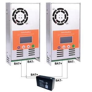 Image 4 - MakeSkyBlue MPPT Solar Charge Controller 80A (2PCS 40A in parallel) for 12V 24V 36V 48VDC GEL AGM Sealed Lead Acid Battery V118