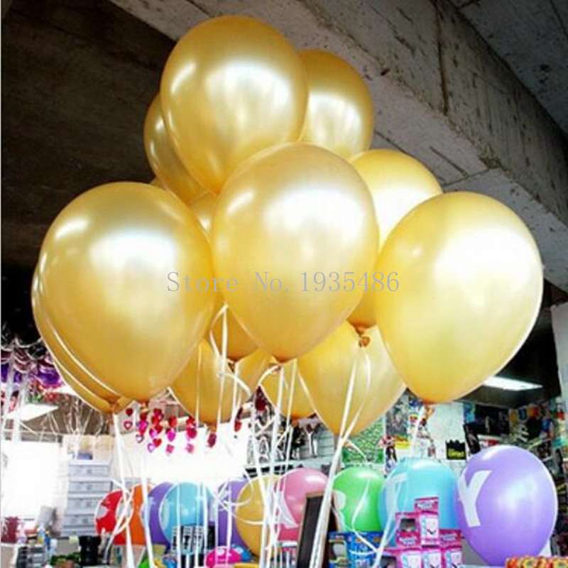 HOT SALE Free 100pcs/lot 10inch 1.5g / pcs Latex Helium Inflable Thickening Pear