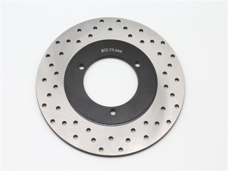 Motorcycle Part Rear Rotor Brake Disc For Y A M A H A YP250 YP 250 Majesty 1998-1999 Stainless steel SD026 keoghs motorcycle brake disc brake rotor floating 260mm 82mm diameter cnc for yamaha scooter bws cygnus front disc replace
