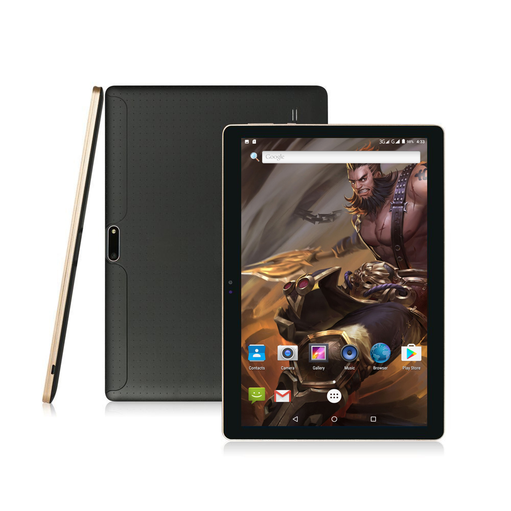 2018 Android tablet 10 inch Octa Core 3G WCDMA 4GB RAM 64GB ROM 1280 800 IPS