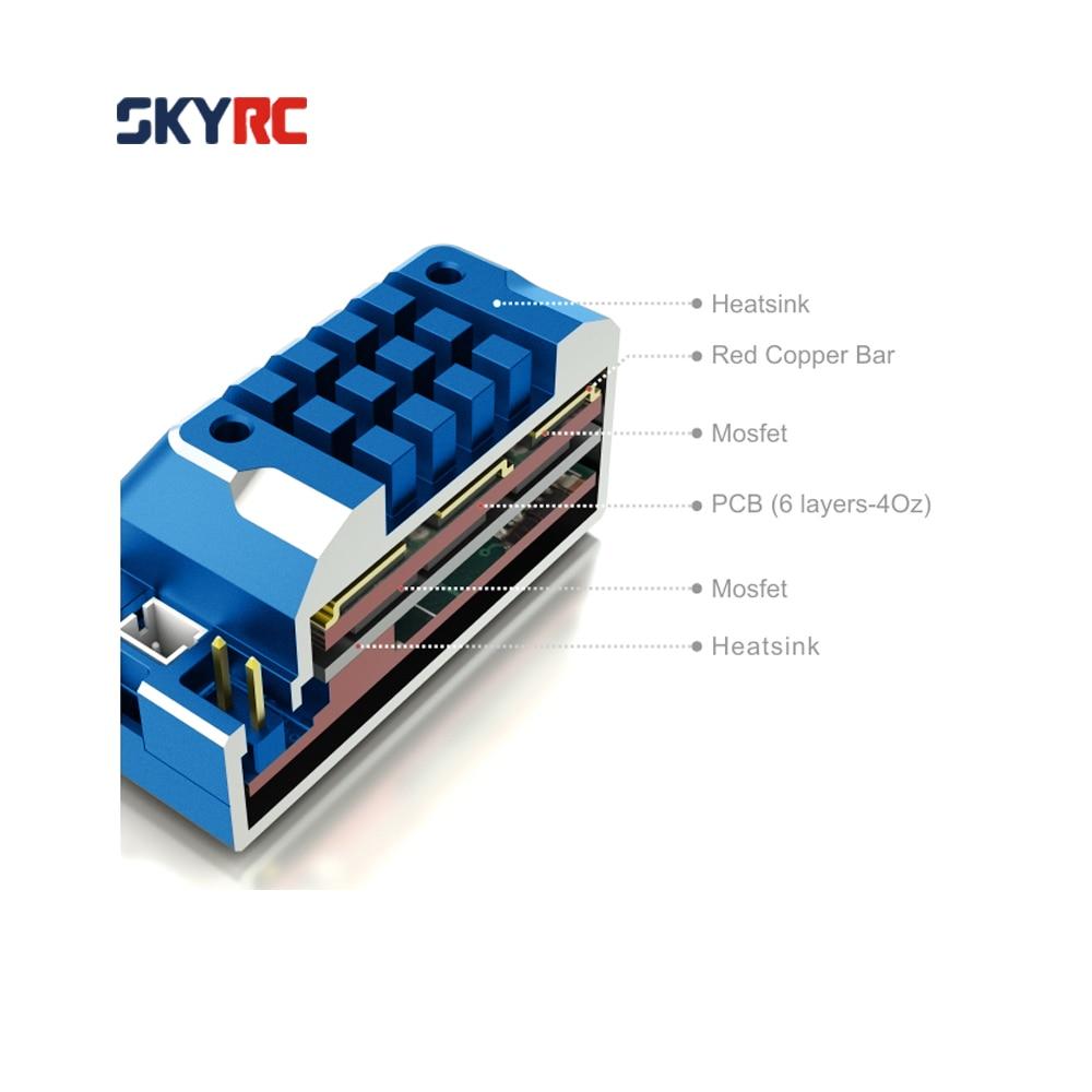 SkyRC TS120 120A 2-3S LiPo Battery Brushless Sensored/Sensorless ESC with 6V/3A BEC for 1/10 1/12 On-road Off-road 1/10 1/8 Car доска для объявлений dz 1 2 j8b [6 ] jndx 8 s b