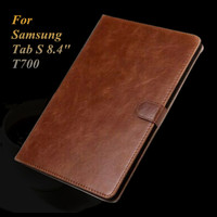 For Samsung Galaxy Tab S 8 4 T700 T705 Luxury Wallet Leather Case Smart Book Cover