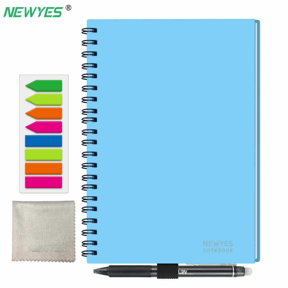 Reusable Erasable Notebook B5 Microwave Wave Cloud Erase