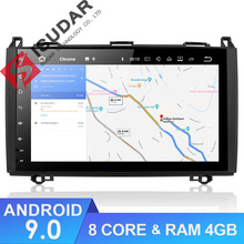 цены Isudar 1 Din Android 9 Auto Radio For Mercedes/Benz/Sprinter/W169/B200/B-class Car Multimedia Player GPS RAM 4GB ROM 64G DVR DSP