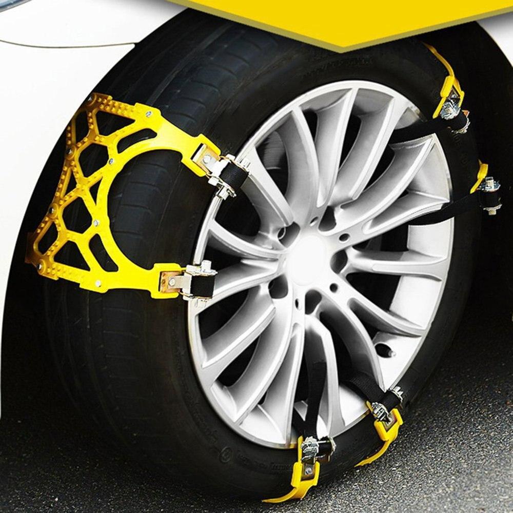 Pneu Automobile anti-dérapant chaîne neige d'urgence universel Type de vitesse voiture tout-terrain véhicule multifonctionnel