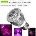 10W Full Spectrum led Grow Light AC85-265V E27 Indoor Plant Lamp Lighting for Flower plant Hydroponics Grow/Bloom Flowering Bulb