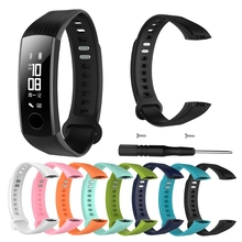 Sports Silicone Bracelet Strap Wristband For Huawei Honor 3 Smart Watch Band Watchbands    - AliExpress
