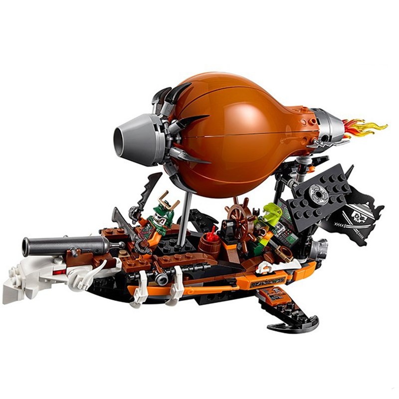 31Phantom Lepin series Airship Assault Educational Toys For Children Brick Kids Birthday Gift