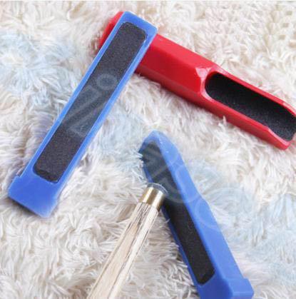 Снукер, бильярдный кий шейпер для наконечника триммера, стержни scuffer Cue tip, двухсторонний шейпер, шлифовальный инструмент для ремонта