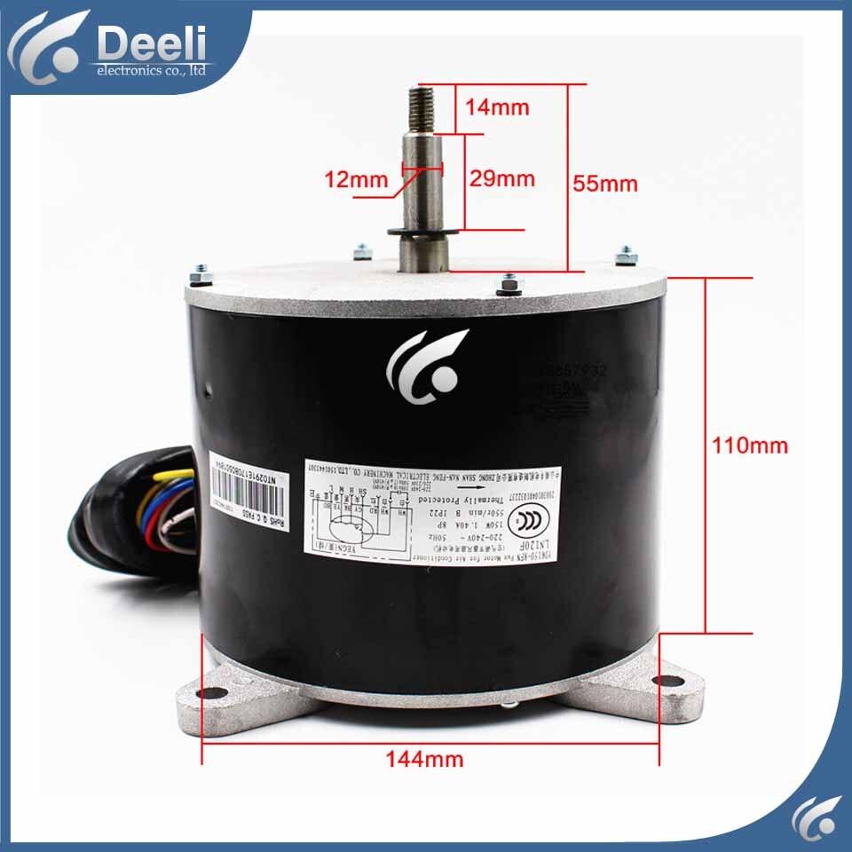 95% new air conditioning Motor LN120F YDK150-8FN 1501443307 Fan motor 95% new original for midea air conditioning fan motor ydk36 4c a ydk36 4g 8 4g 8 36w direction of departure