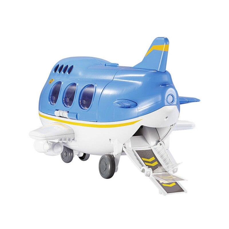 2018 wysokiej jakości Super skrzydła statku powietrznego sceny centrum z samolotami Action Figures transformacja zabawki dla dziecka Aniversario prezent w Figurki i postaci od Zabawki i hobby na  Grupa 3