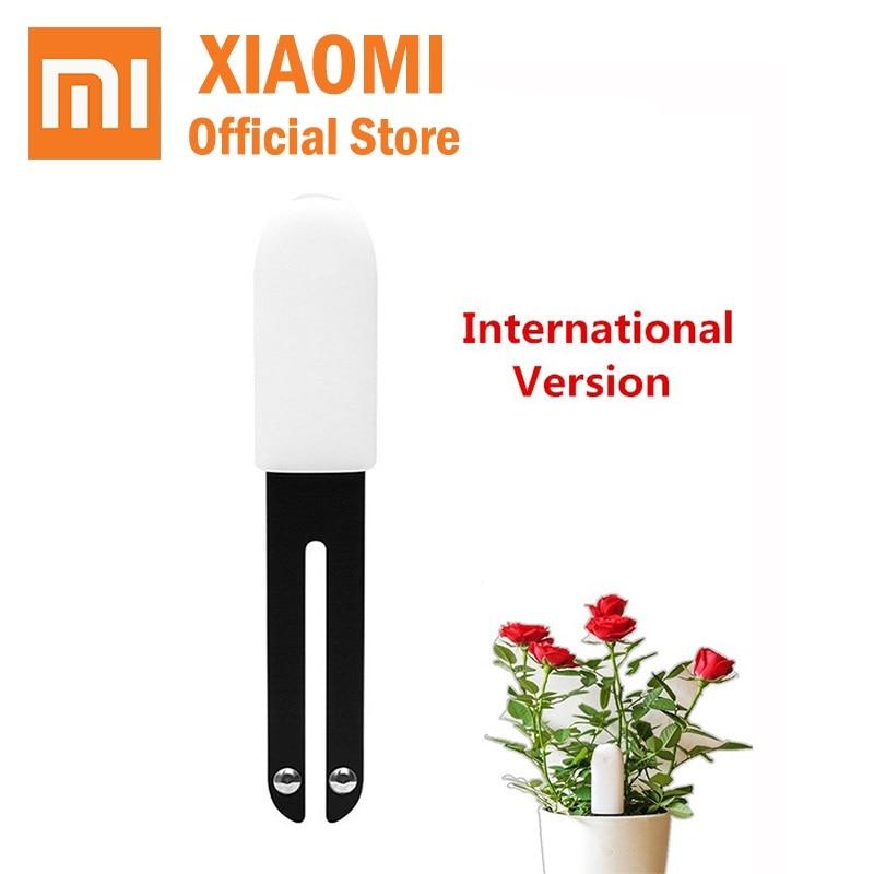 New Xiaomi Mi flower Monitor Digital Plants Grass Flower sensor Care Soil Water Light Smart Tester Sensor International HHCC-in Smart Remote Control from Consumer Electronics