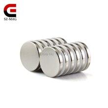 10 шт. сильный диаметр 20 х 3 мм редкоземельных Craft Модель Неодимовый магнит Неодимовый N50 оптовая продажа бесплатная доставка