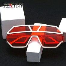 FZKYNY New Fashion Brand Design Men European style Sunglasses Women Metal Frame Shade Sun Glasses Drivers Goggles UV400 Eyewear