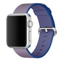 Watch Accessories For Apple Watch Band Strap 42mm 38mm Sport Woven Nylon Fabric Watchband Wrist Bracelet