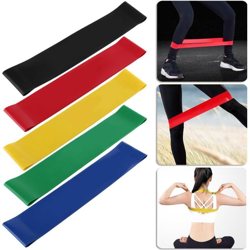 1 Stks Spier Bodybuilding Expander Natuurlijke Latex Elastische Spanning Weerstand Band Yoga Fitness Rubber Loop Heupen Benen En Billen