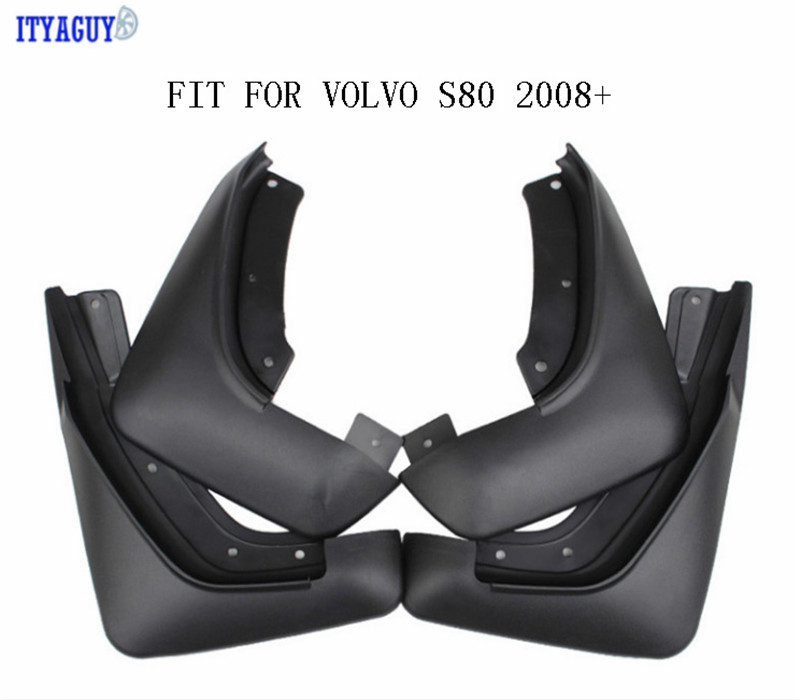 High quality For VOLVO S60 S80 S40 C30 V40 V60 2008 2017 car Mudguards Flaps Mudflaps Splash Guards Mud Flap Mudguards Fender