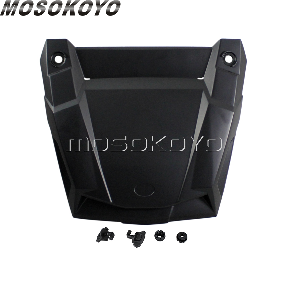 Genuine Black Plastic Hood Scoop Turbo Hood Air Intake For Polaris RZR XP 4 900 1000