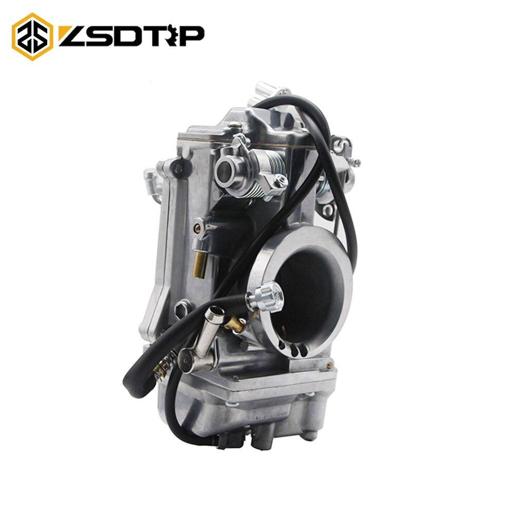 ZSDTRP CARB Carburetor Replace For Mikuni HSR TM45 45mm Easy Kit Carbs For HARLEY MIKUNI EVO