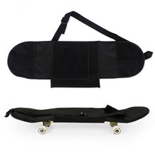 Tampa Da Placa de Skate esportivos de Skate Longboard Skate Transporte Mochila Carry Bag Durable Conveniente Portátil Capa(China)