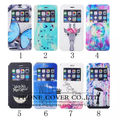 New 8 colors Painted patterns Open window for Samsung S5 case luxury Leather Case Cover For Samsung Galaxy S5 i9600 case flip