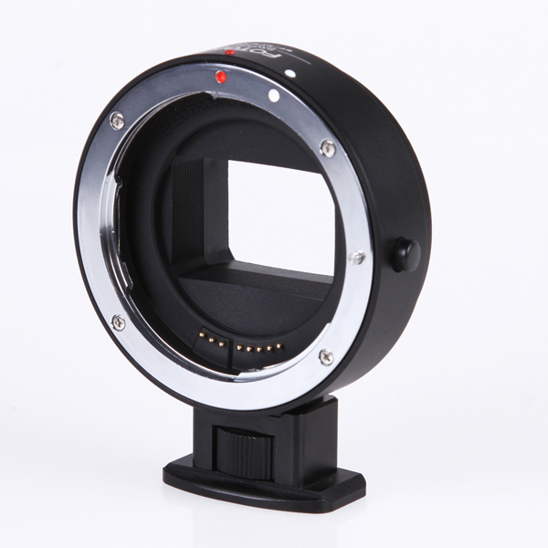 FOTGA Electronic AF Auto Focus Lens Adapter Ring for Canon EF-S lens to Sony NEX E A7S A7R Full Frame metal camera auto focus lens adapter ii for canon eos ef ef s to sony full frame nex a7 a7r