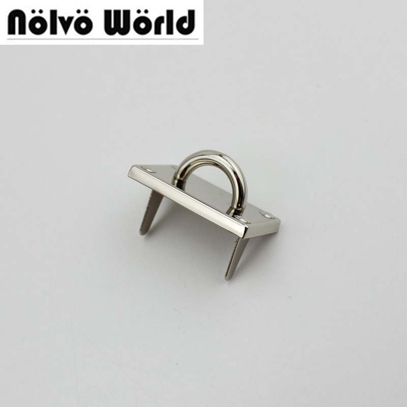 10pcs 3 colors 30*20mm High quality alloy gold metal arch bridge connector hanger bags belts strap Hardware Accessories