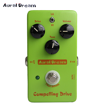 Aural Dream Compelling Drive Analogue True Bypass Overdrive Effects Pedal for Electric Guitar image