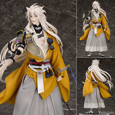 Anime Figure 23.5 CM Touken Ranbu Online kogitsunemaru Fox Ball 1/8 Scale PVC Action Figure Collectible Model Toy vogue good smile shokitsunemaru fox ball kimono with sword 9 from action figure nitro game touken ranbu online