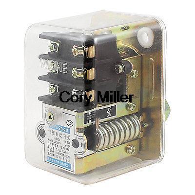 Air Compressor AC 380V 20A 72.5-217.5PSI 1-Port Automatic Pressure Switch Valve air compressor pressure switch control valve 175psi 1 port 240v 20a no