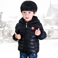 Retail Fashion Hot Sale Male child wadded jacket winter children's clothing thickening down cotton child cotton-padded jacket
