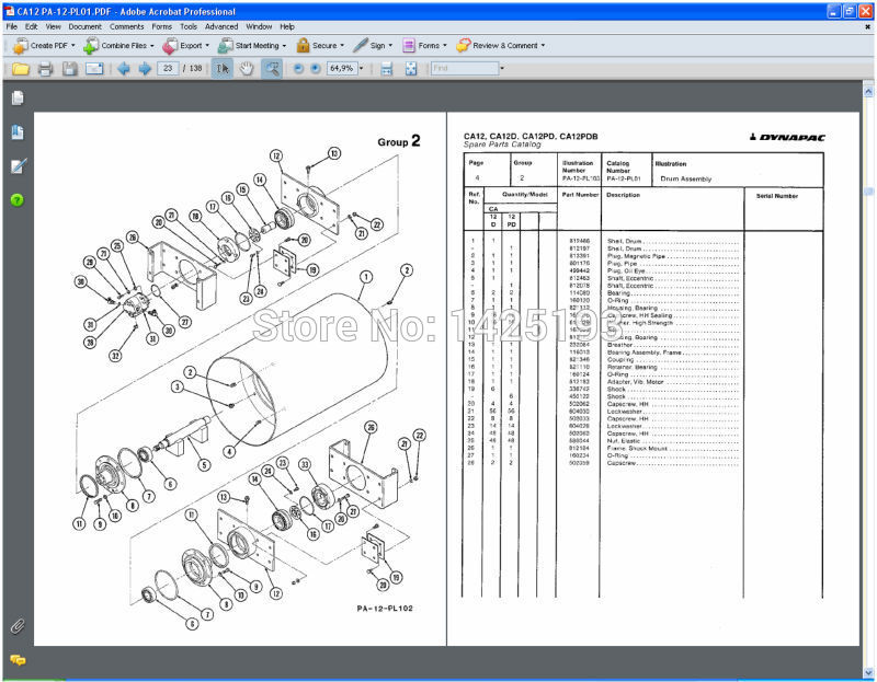 dynapac spare parts catalogues and service manuals in code readers rh aliexpress com dynapac cc122 wiring diagram dynapac cc102 wiring diagram
