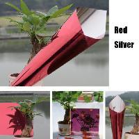 Разных цветов, один из способов видения с высокой температуры отказ серебро & красной светоотражающей пленки 1mx4m