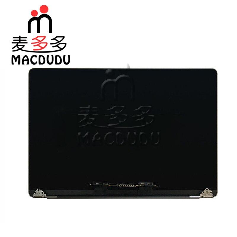 Новый космический Серый Серебряный ЖК экран полная сборка для MacBook Pro Retina A1707 15,4 дисплей * проверенный поставщик *