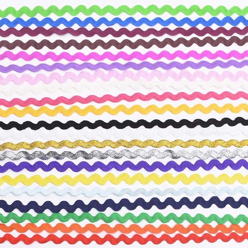 5 мм s-образные кружевные ленты с отделкой, волнистая кружевная лента для рукоделия, аксессуары для шитья, костюм, шляпа, занавеска, подушка, у...