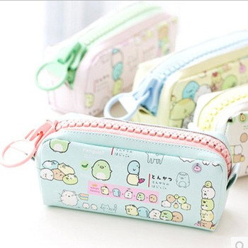 1PCS Cute Pencil Bag for school Big capacity Sumikko gurashi pencil case stationery pouch Estuche School Office Supply Zakka