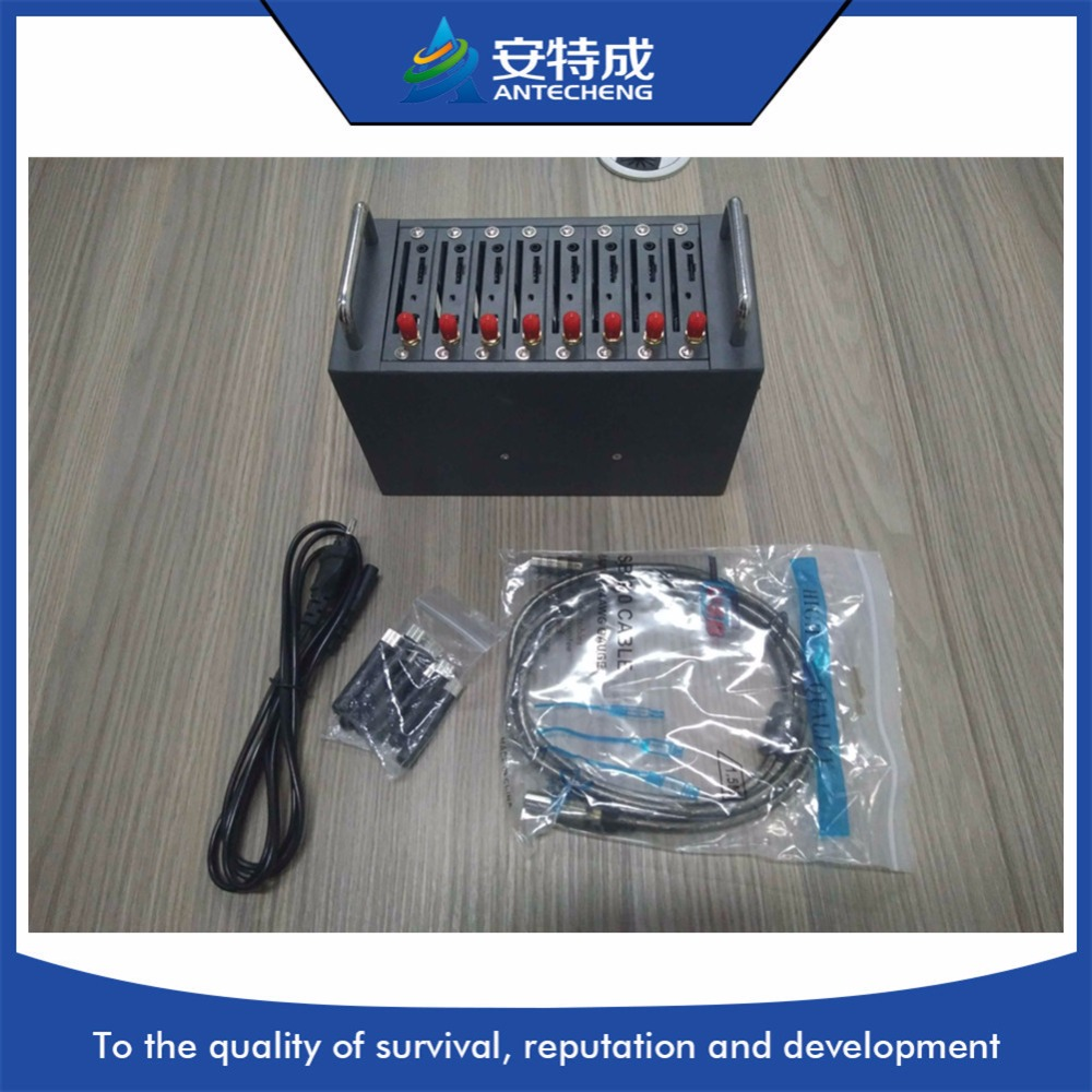Antecheng MTK M26 bulk sms device 8 ports modem mobile recharging for Ezze software timarco m26 blue