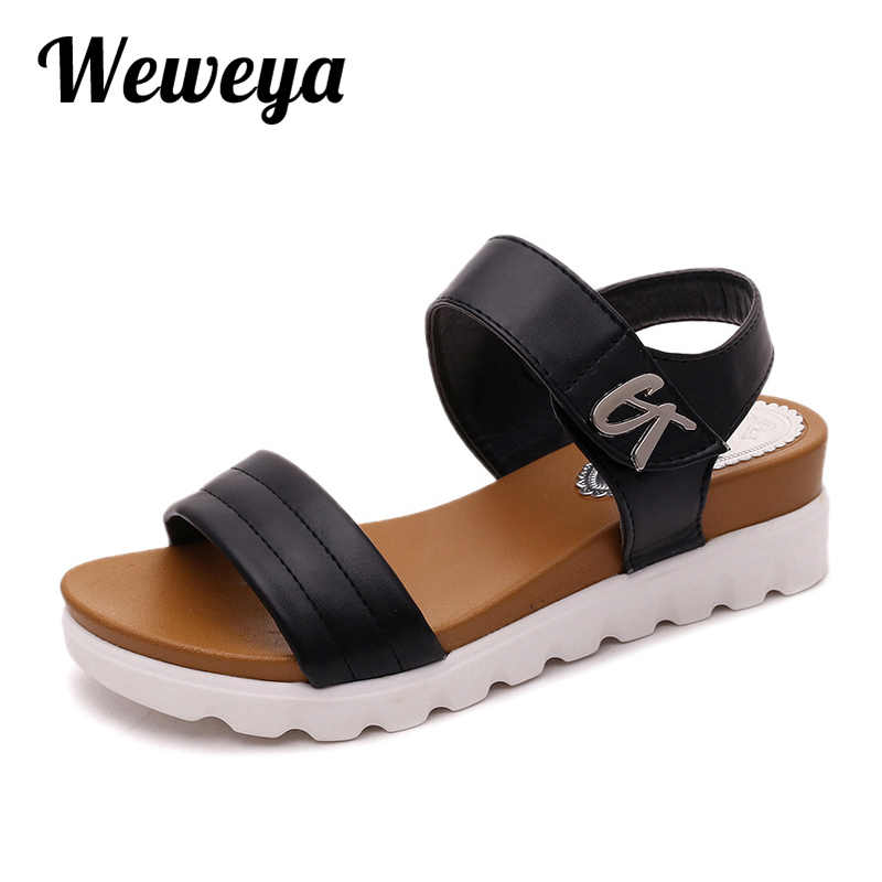 ... Weweya размер 42 Женские летние сандалии в гладиаторском стиле Для  женщин сандалии на плоской подошве из ... 1e1e30f6e98de