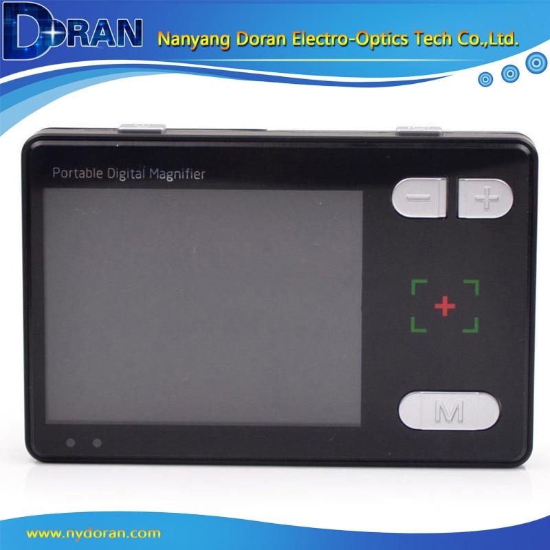 """Lenti d'ingrandimento con lente d'ingrandimento tascabile a LED da 3,5 """"con lente d'ingrandimento tascabile con video LCD Lente di ingrandimento digitale per video elettronica portatile"""