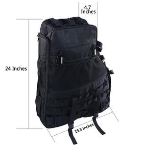 Image 4 - Chuang qian 2X stabilizator poprzeczny przechowywanie narzędzi torba wielu kieszenie Saddlebag organizatorzy Cargo dla Jeep Wrangler JK TJ LJ i nieograniczony 4 drzwi