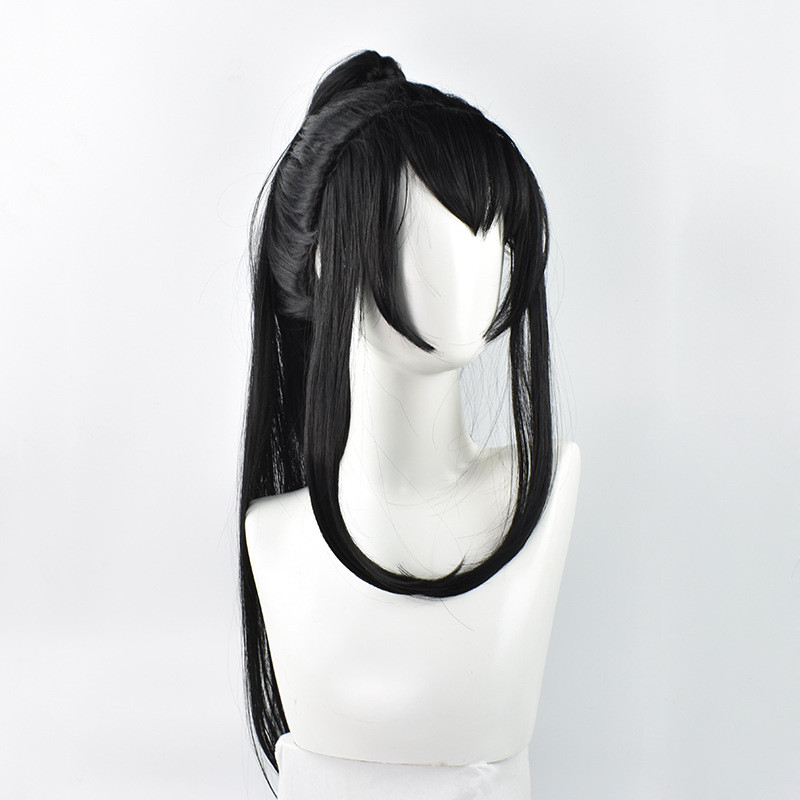Image 3 - Grandmaster of Demonic Cultivation Xue Yang Xiao Xing Chen Cosplay Wig Chinese Anime Magic Ancestors Cosplay Black Long Hair Wig-in Anime Costumes from Novelty & Special Use