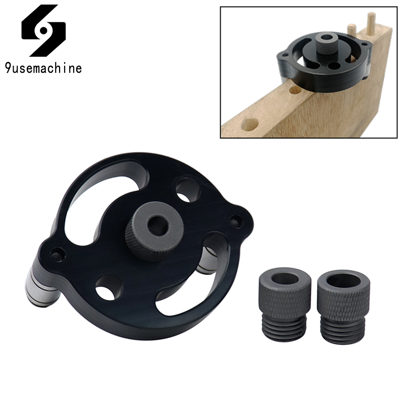 Vertical Pocket Hole Jig 6/8/10mm Wood Dowelling Self Centering Drill Guide Kit Hole Puncher Locator Jig For Woodworking Tools|Drill Bits|   - AliExpress
