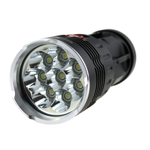 New Skyray Led Flashlight 12000 Lumens 8x CREE XM-L T6 LED Flash light Super Bright Torch Lantern power by 4×18650 battery