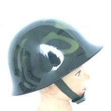 Стальной аварийный спасательный Стальной шлем Противоударная Античная пожарная шлема