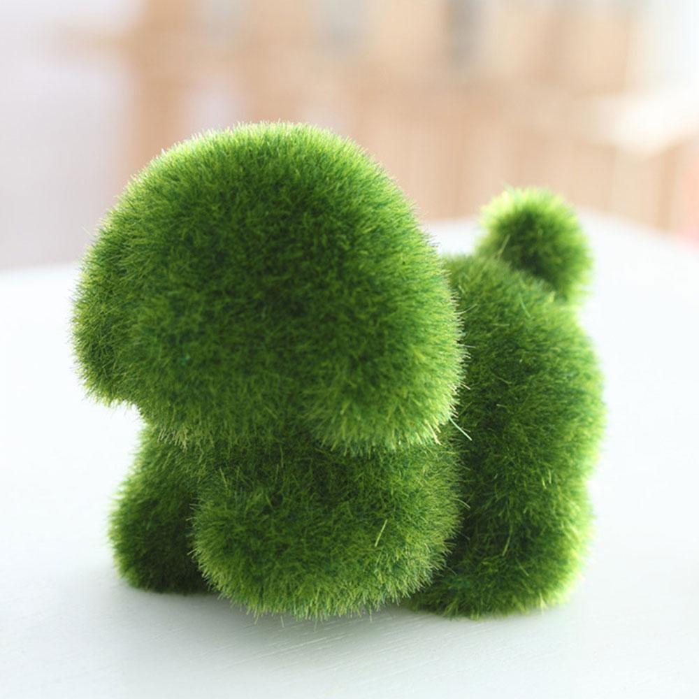 Ручной работы в форме животных искусственный сток Искусственный животных эмуляция животных креативный милый Рождественский Декор для свадеб и садов игрушка - Цвет: Dog