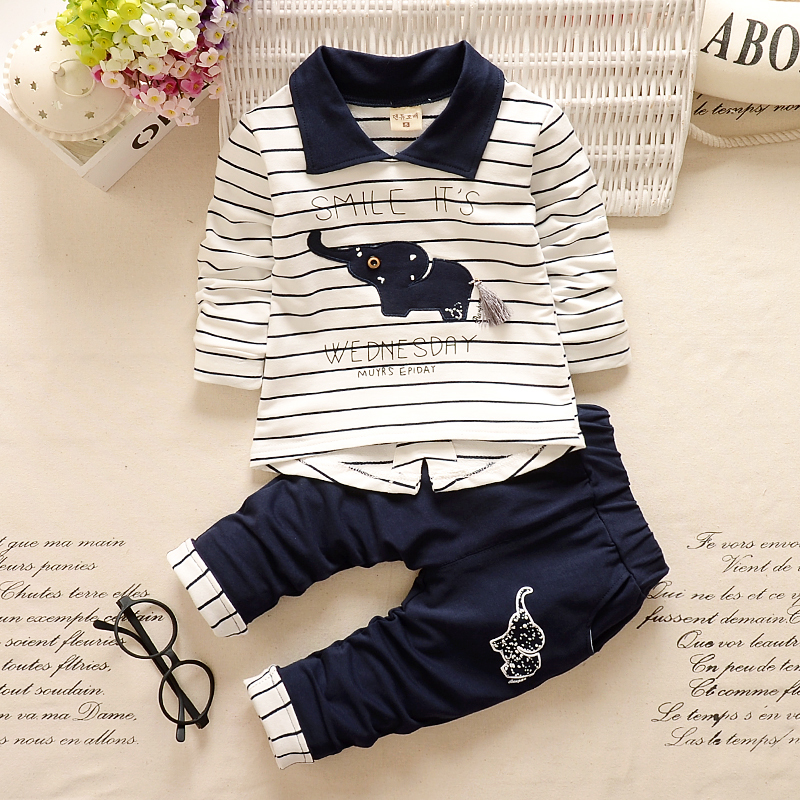BibiCola newborn baby boys Clothing sets top+pants infants animal clothes set kids toddler Autumn set boys sport tracksuit set spring and autumn baby boys clothing set casual sport patrulha pata tracksuit infant toddler boys clothes top t shirt pants