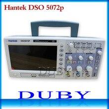Hantek DSO5072P Digital Speicher Oszilloskop 70 MHz 2 Channels 1GSa/s d Länge 24 Karat USB