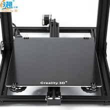 Newest Creality 3D Printer Black Carbon Silicon Crystal Build Hotbed Platform 310*310 MM Glass For Creality 3D CR 10/10S