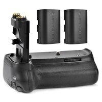 Майке Батарейная ручка держатель удобная упаковка для Canon EOS 70D 80d BG-E14 DSLR + 2x Аккумуляторы LP-E6 p0009439